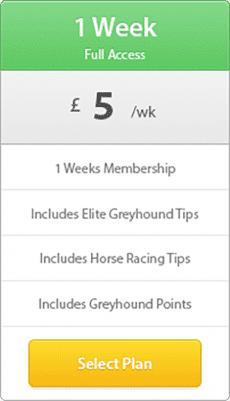 1 week modern pricing table 230x401 - 7 Day Membership